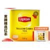 进口立顿红茶小黄罐500g港式奶茶专用斯里兰卡茶叶ctc锡兰红碎茶